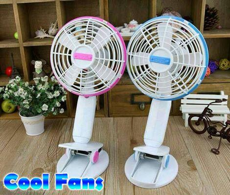 cool fans ( blue / pink ) with USB