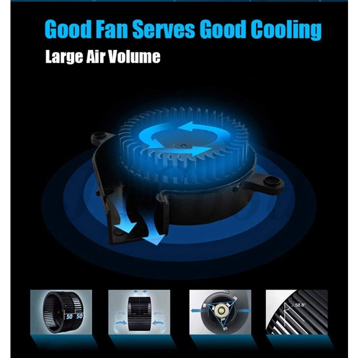 Coolcold Laptop Cooler Fan Laptop Cooling USB PORTABLE Cooling Fan For