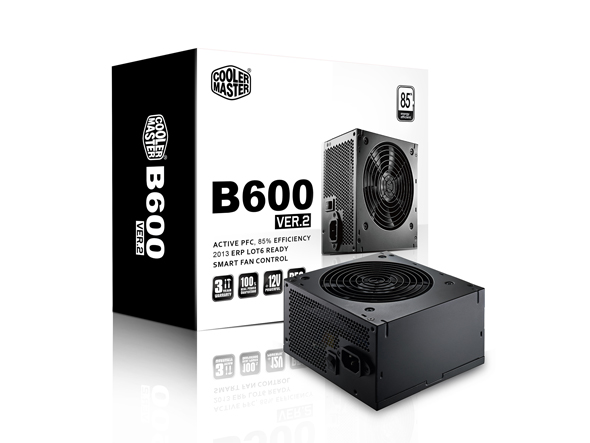 COOLER MASTER B600 600W POWER SUPPLY (RS600-ACAB-B1-UK) RETAIL