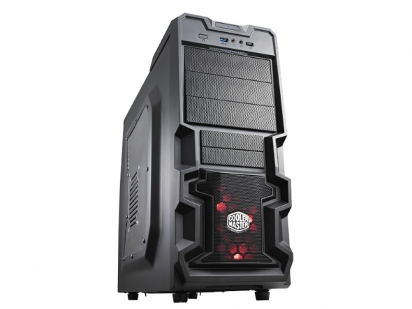 COOLER MASTER Casing ATX K380 USB 3.0 WINDOW (RC-K380-KWN1) BLACK