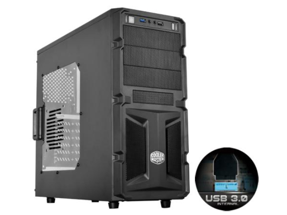 COOLER MASTER Casing ATX USB3 K350 WINDOW (RC-K350-KWN1-EN) BLACK
