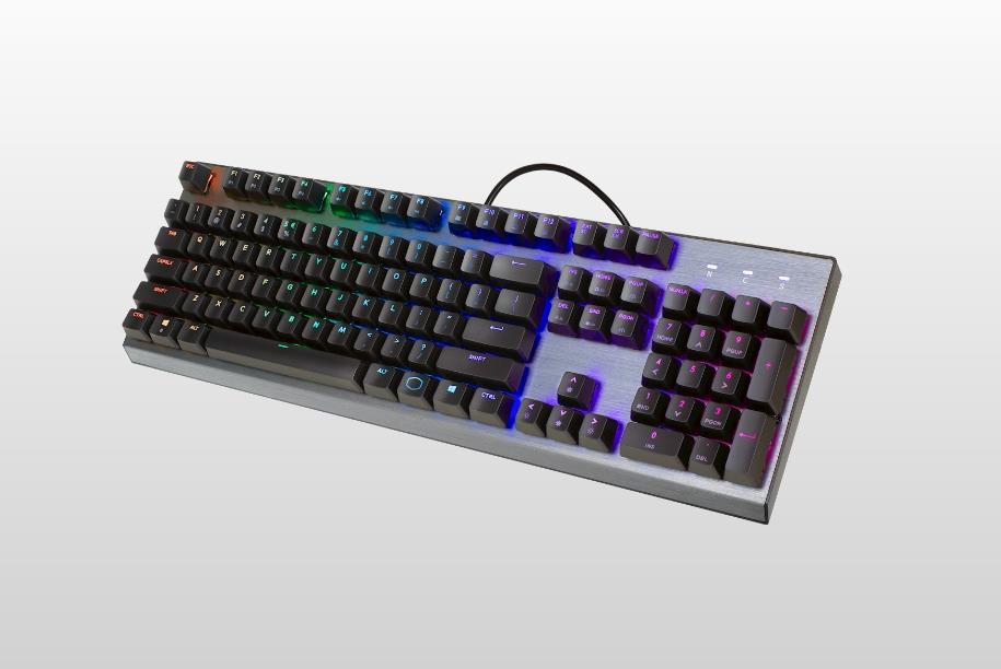COOLER MASTER CK350 RGB MECHANICAL GAMING KEYBOARD BROWN SWITCH CK-350