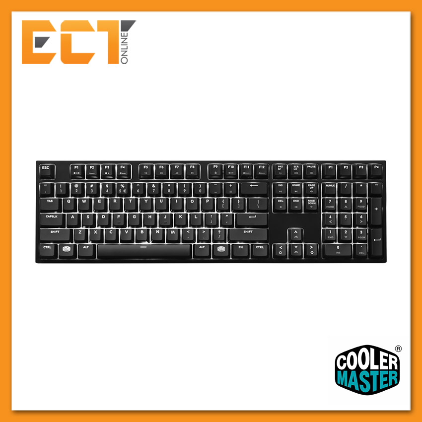 Cooler Master CM MasterKeys Pro L White LED (MX Brown) Keyboard