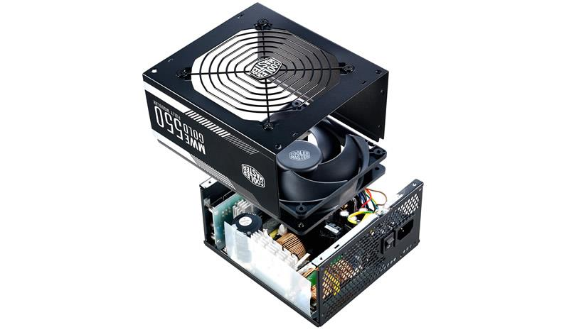 Cooler Master CM MWE Gold 550W Fully Modular Power Supply
