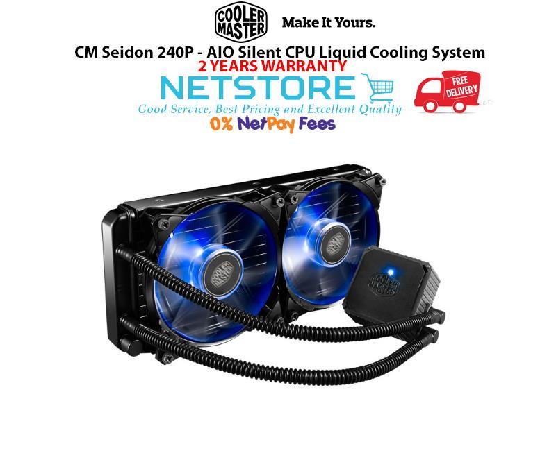 Best Aio Cooler 2020 Cooler Master CM Seidon 240P   AIO (end 4/10/2020 11:15 PM)