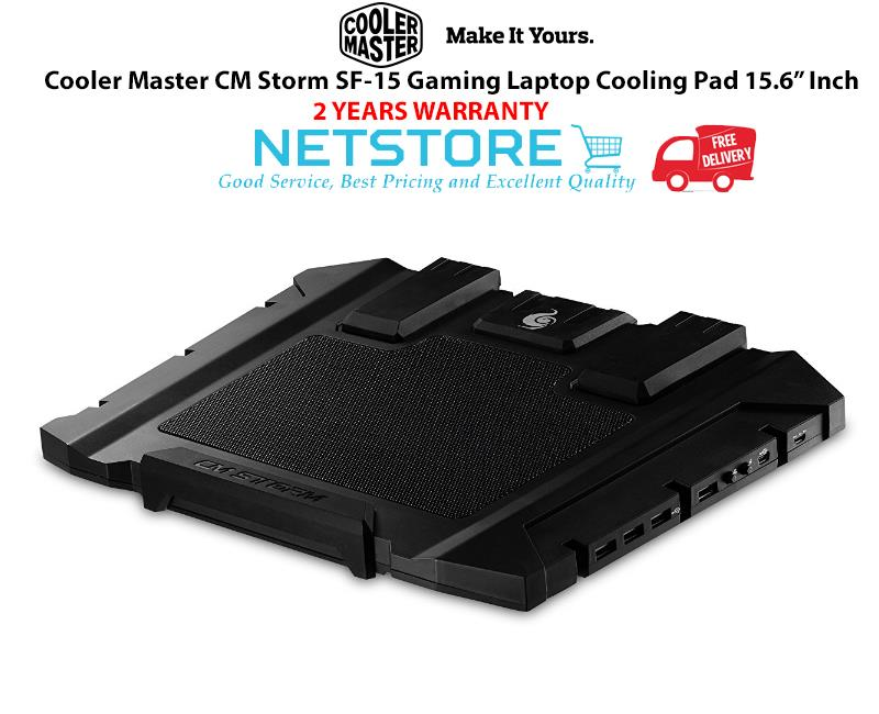 Best Gaming Laptop Cooling Pad 2020 Cooler Master CM Storm SF 15 Gaming (end 2/21/2020 9:15 AM)