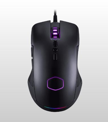 COOLER MASTER CM310 RGB 10000DPI WIRED MOUSE (CM-310-KKWO2)