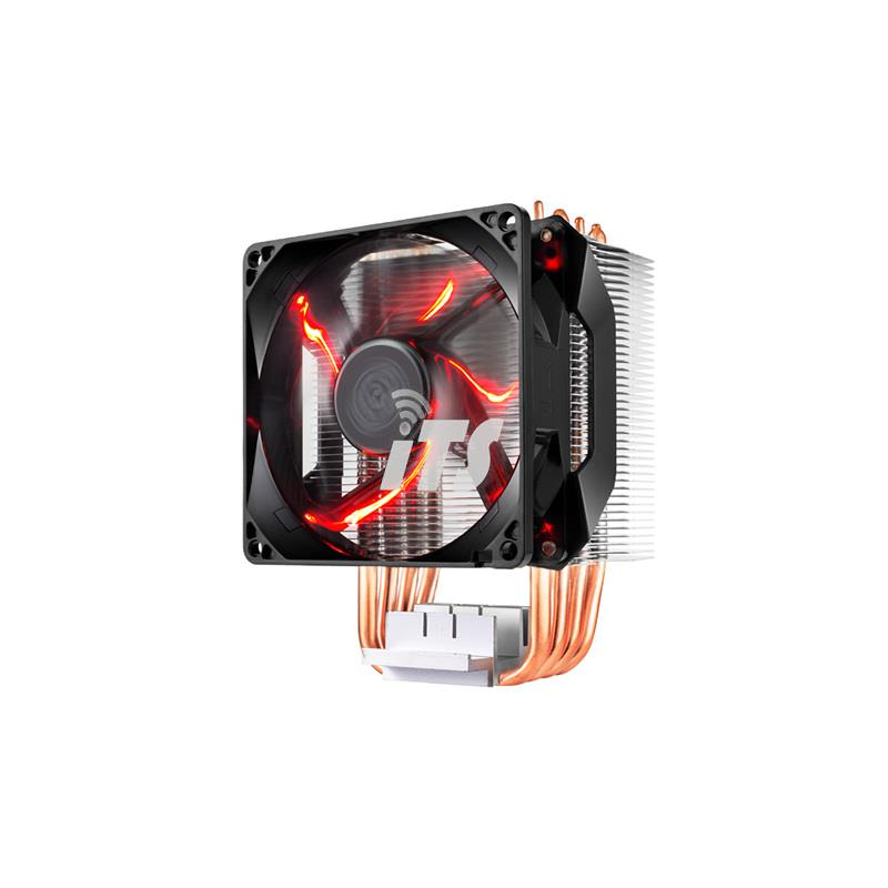 Cooler Master Hyper H410R CPU Cooler Fan w/ Red LED PWM Fan