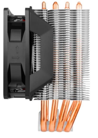COOLER MASTER HYPER H410R RED LED CPU COOLER (RR-H410-20PK-R1)