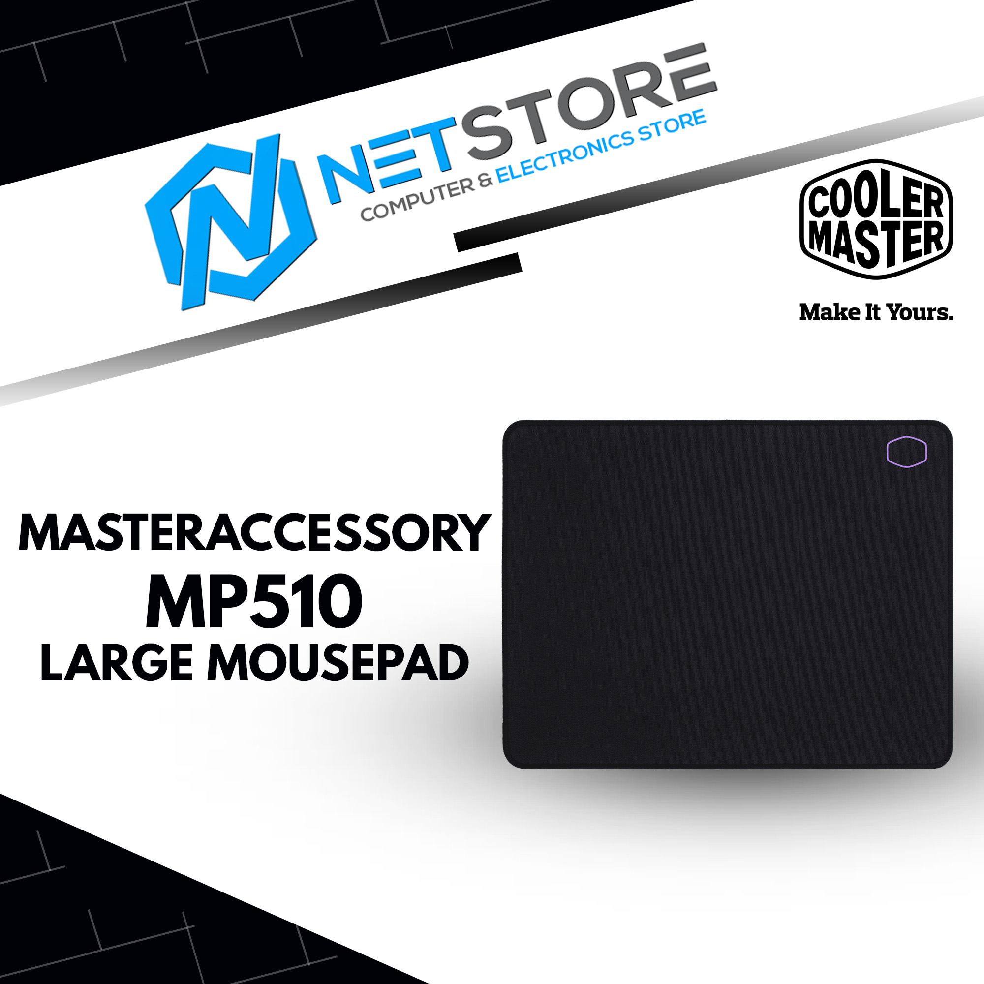 COOLER MASTER MASTERACCESSORY MP510 MOUSEPAD (LARGE) - MPA-MP510-L