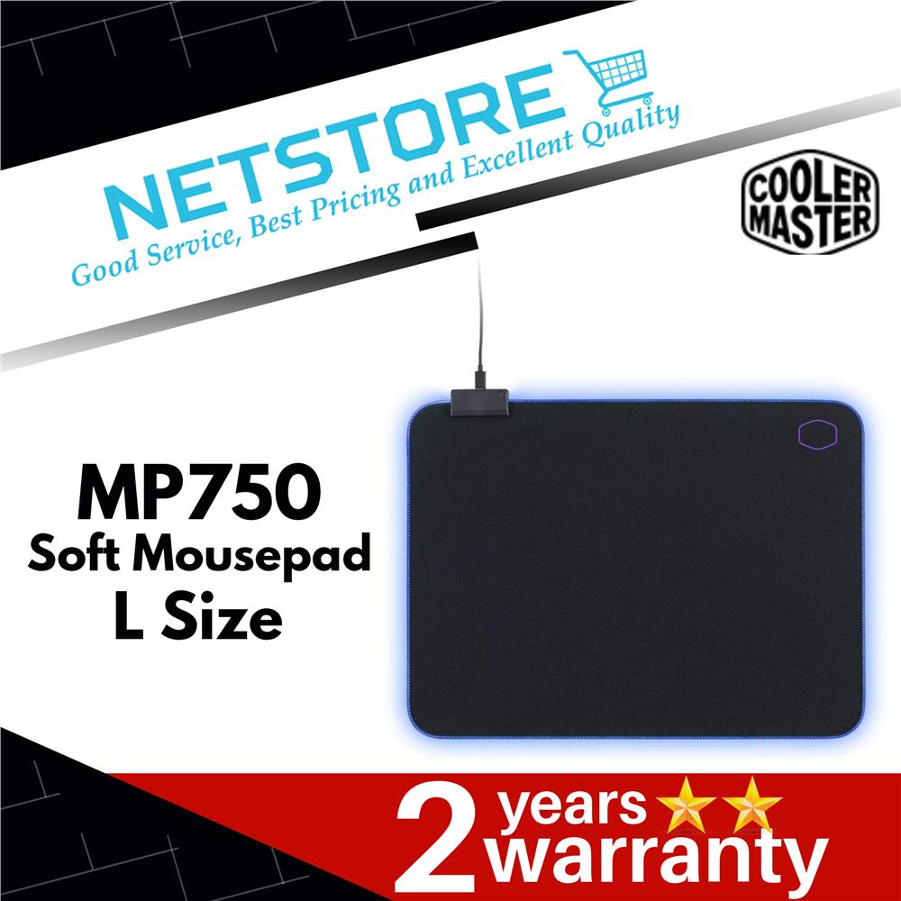 Cooler Master Masteraccessory MP750 L Soft Mouse - Pad RGB Borders