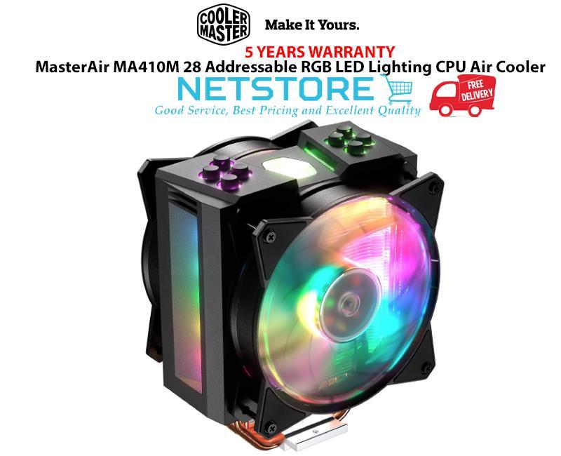 Cooler Master MasterAir MA410M 28 Addressable RGB LED Lighting CPU Air