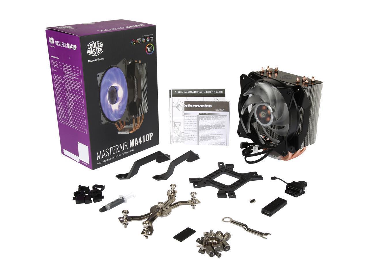 # COOLER MASTER MasterAir MA410P RGB CPU Air Cooler #