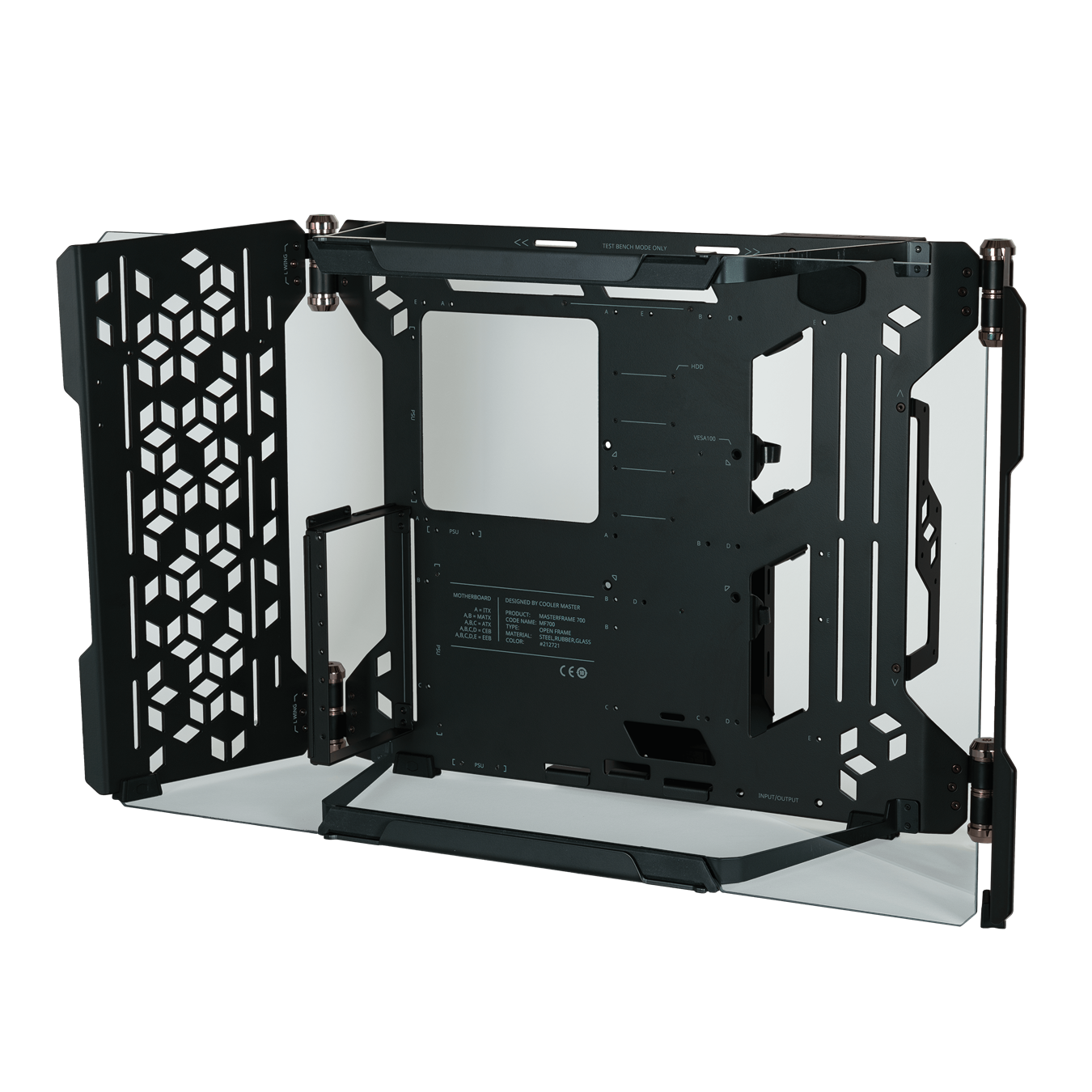 COOLER MASTER MASTERFRAME 700 FULL TOWER CUSTOM FRAME