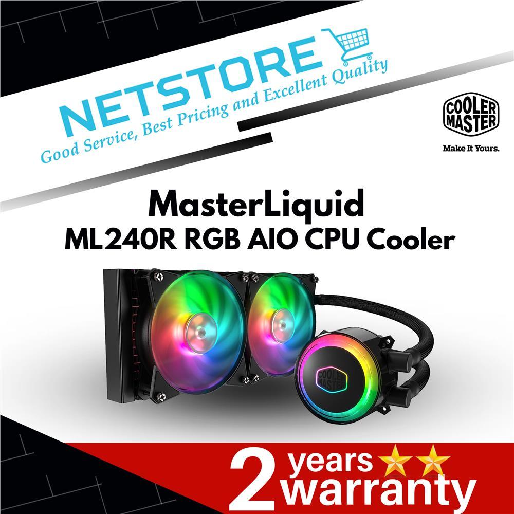 Cooler Master MasterLiquid ML240R ARGB AIO Cooler - MLX-D24M-A20PC-R1