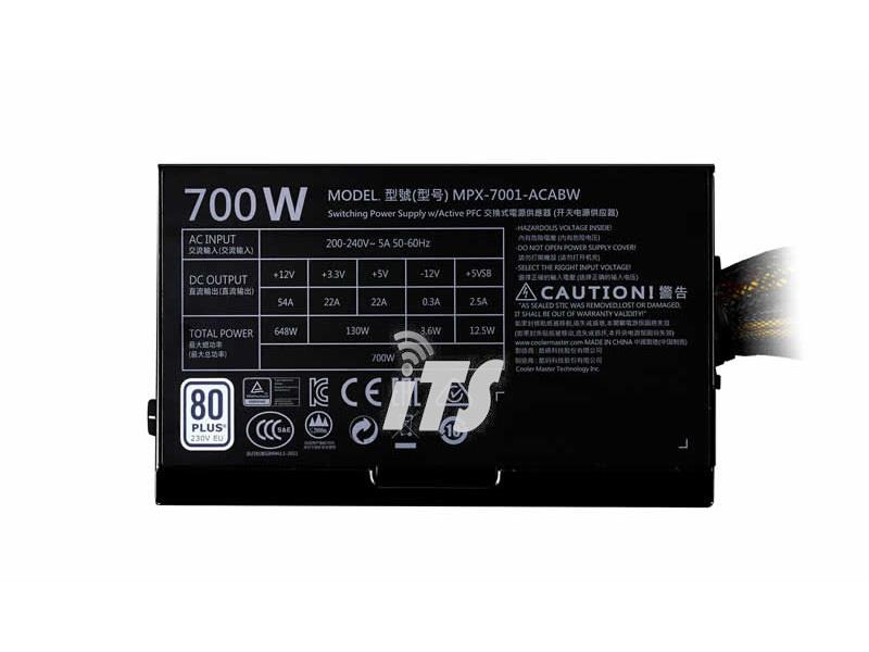 Cooler Master MasterWatt Lite 700W Power Supply