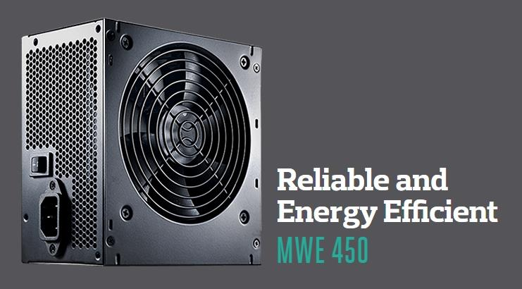 COOLER MASTER MWE 450W POWER SUPPLY (MPW-4502-ACABW)