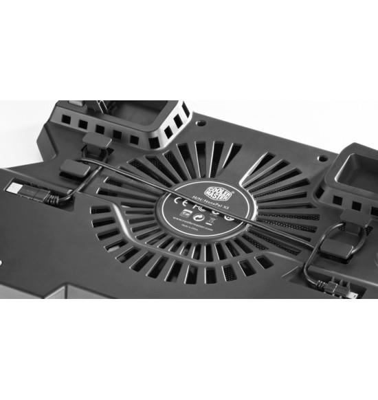 Cooler Master NotePal X3 Silent Fan Notebook Cooling Pad