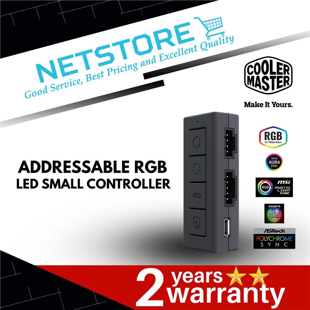 Cooler Master A-RGB ARGB LED SMALL CONTROLLER - MFX-ACBN-NNUNN-R1