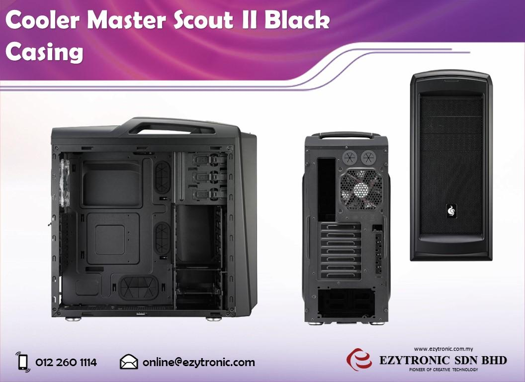 Cooler Master Scout II Black Casing