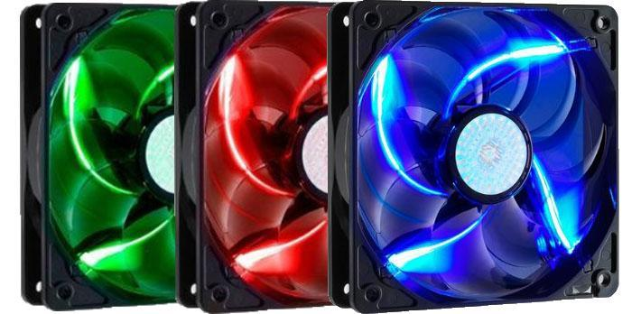 # COOLER MASTER SickleFlow X LED 120 Casing Fan # 3 Color Available