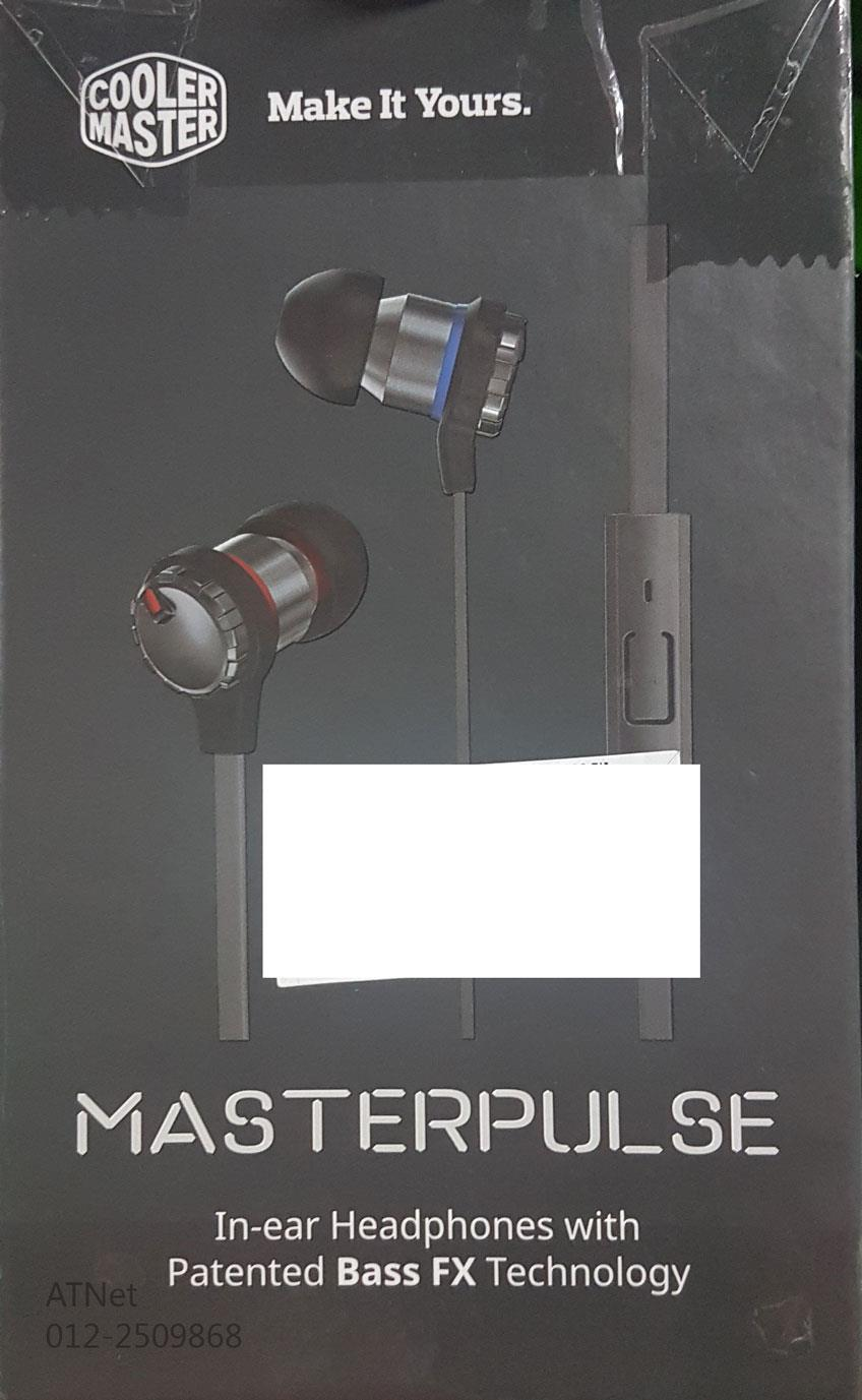 COOLERMASTER MASTERPULSE IN-EAR HEADPHONES