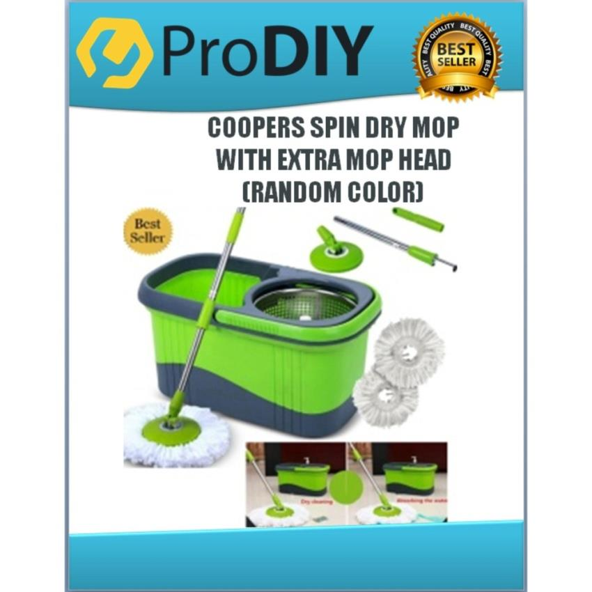 COOPERS SPIN DRY MOP W/FREE GIFT (RANDOM COLOUR)