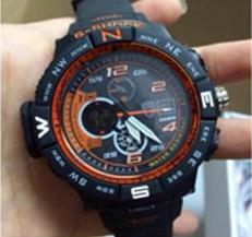 Copy Grade AA Gshock Chicago Bulls Sports Men Watch Jam Tangan