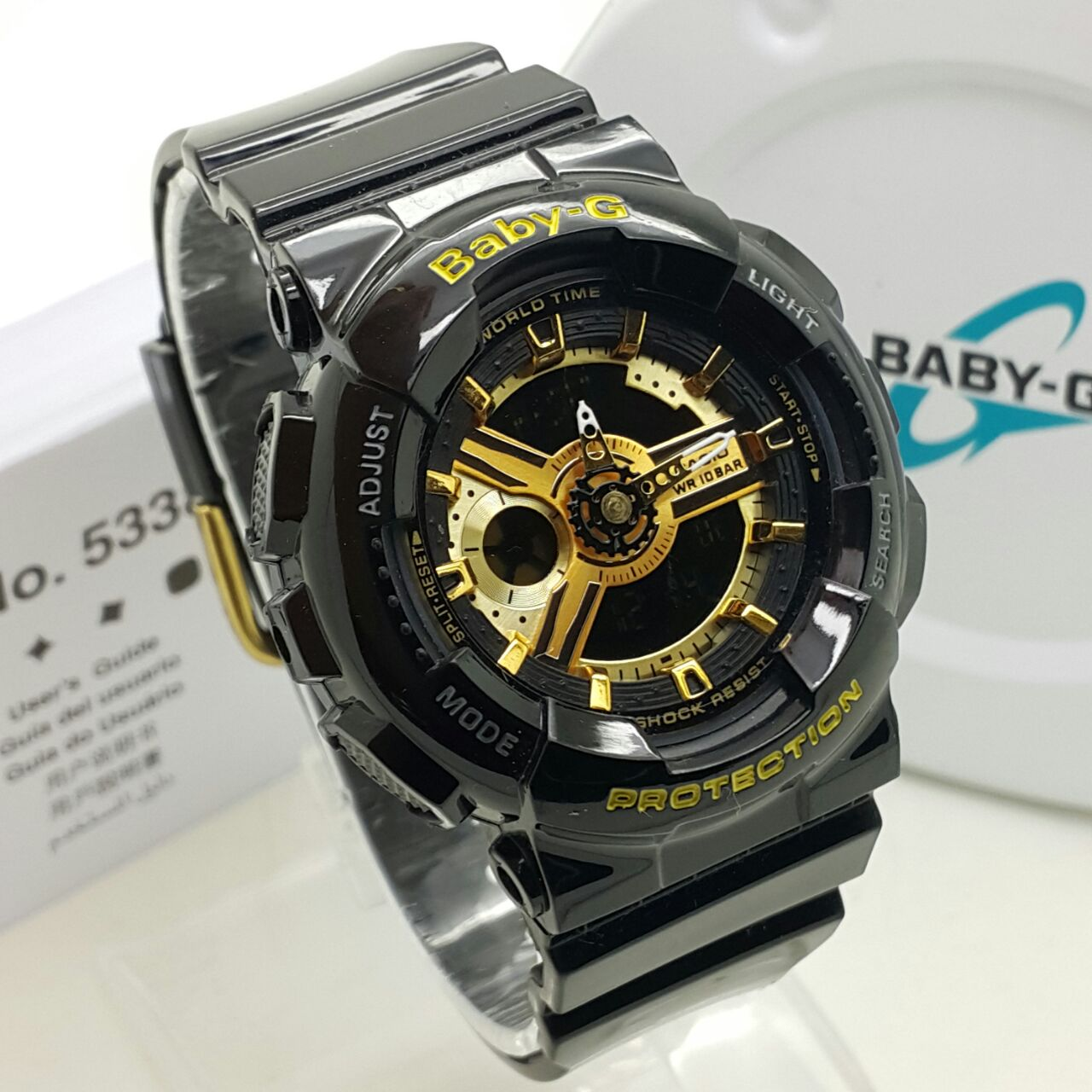 Baby G Black Gold Price Harga In Malaysia Casio Bga 230 7b Original Copy Shock Fashion Sport Watch