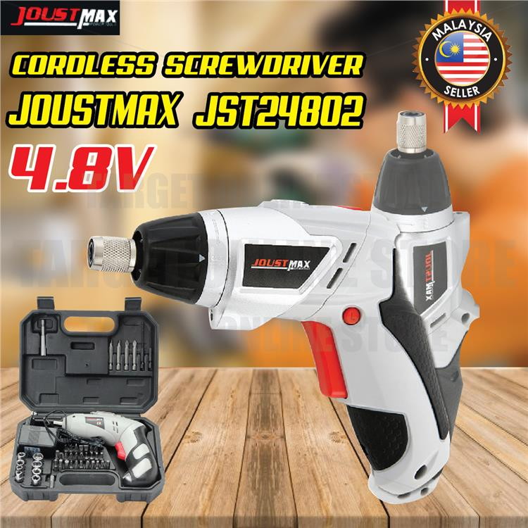 Cordless Drill Power Tool Screwdrivers Rechargeable 4.8V 180 Rotation