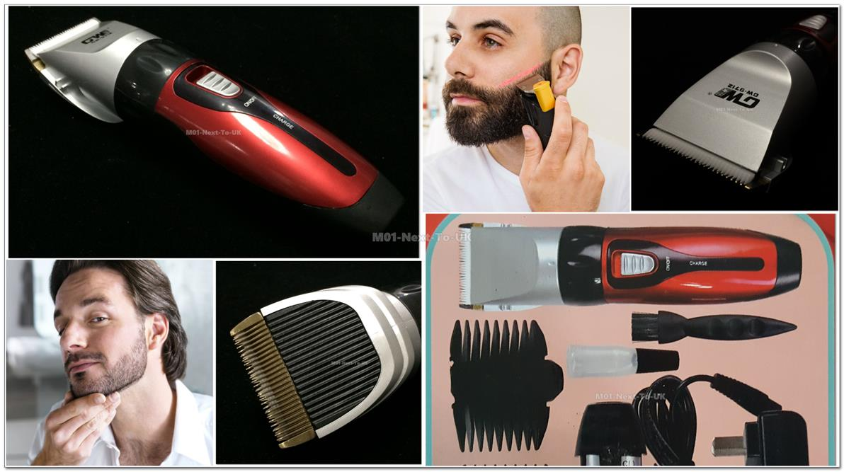 Cordless Rechargeable Men's Electric Shaver Razor Beard Hair Clipper T