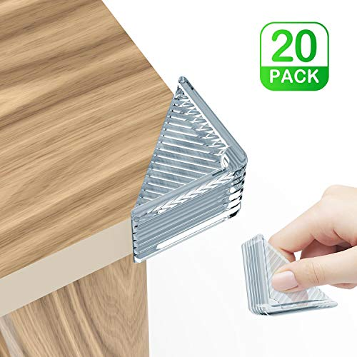 Corner Protector, 20 Pack Super Strong Clear Edge Bumper - Baby Proofing Kit F