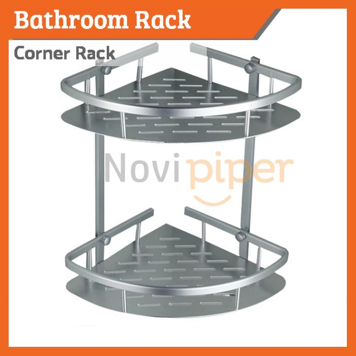 Corner Shampoo Rack Aluminium Bathr (end 10/2/2020 12:39 AM)