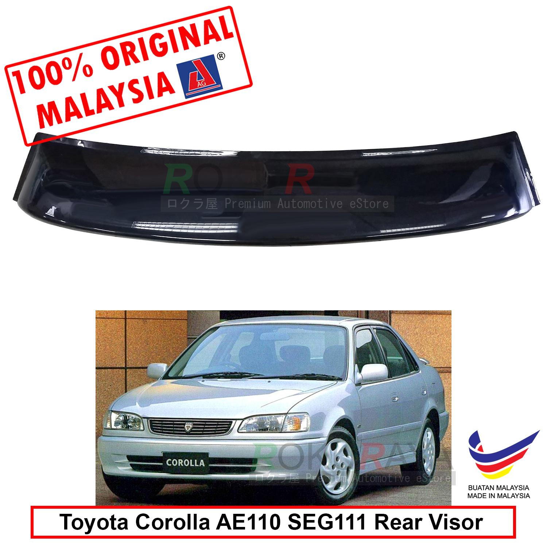 Corolla AE110 SEG111 (8th Gen) AG Rear Wing Spoiler Visor (Big 20cm)