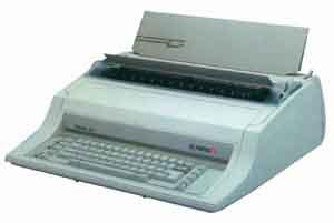 Corporate Equipment Olympia Electronic Typewriter Standard 300