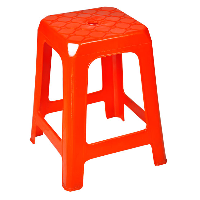 Corporate Furniture Plastic Stool 460mm Height PS A460 Adult