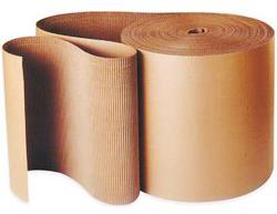 Corrugated B-Flute Single Face Roll (Paper Roll)
