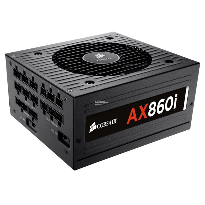 CORSAIR 860W AX860I 80+ PLATINUM FULL MODULAR POWER SUPPLY