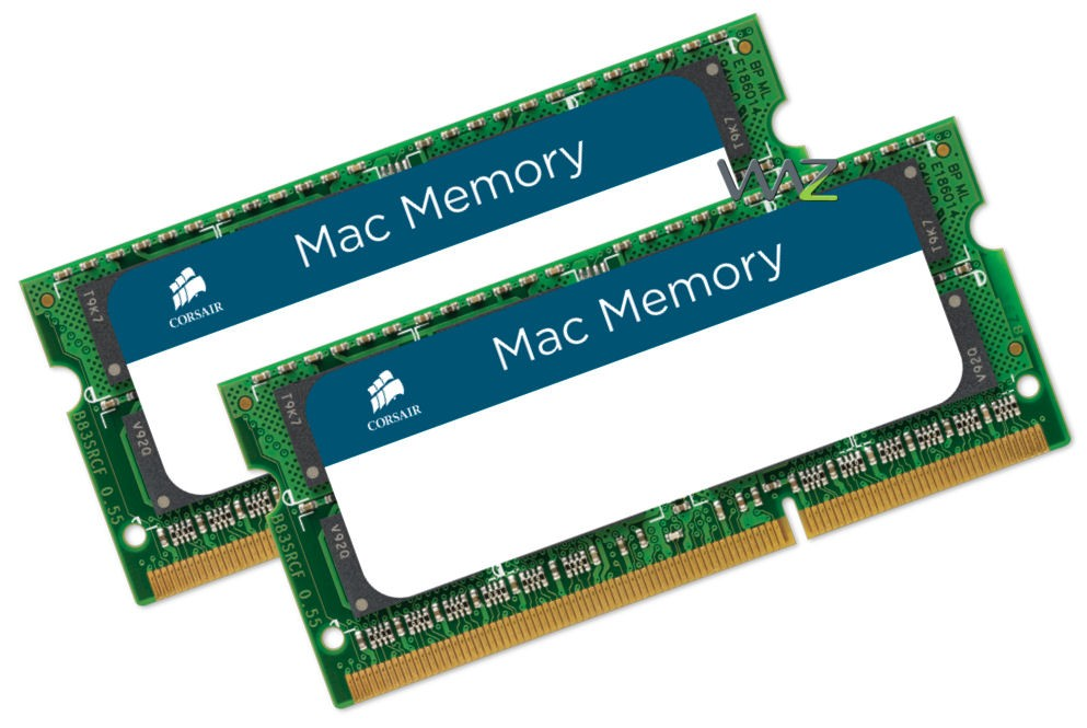 Corsair Mac Memory Upgrade Kits: Guaranteed Performance, Compatibility, and Support.