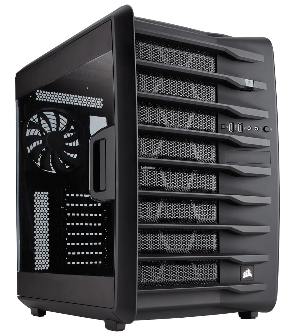 CORSAIR CARBIDE AIR 740 HIGH AIRFLOW ATX CUBE CHASSIS