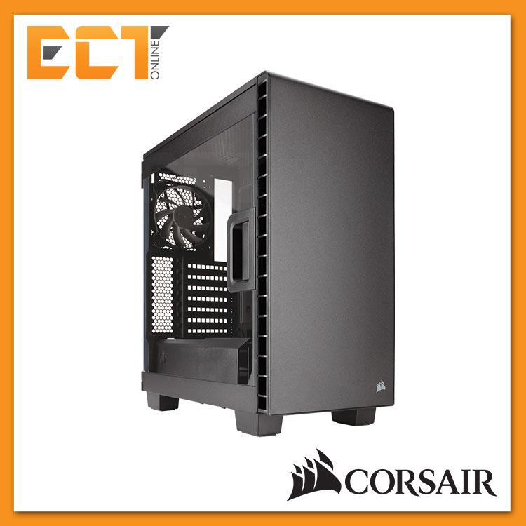 save off 40657 169de Corsair Carbide Series Clear 400C Compact Mid-Tower Case -White/ Black