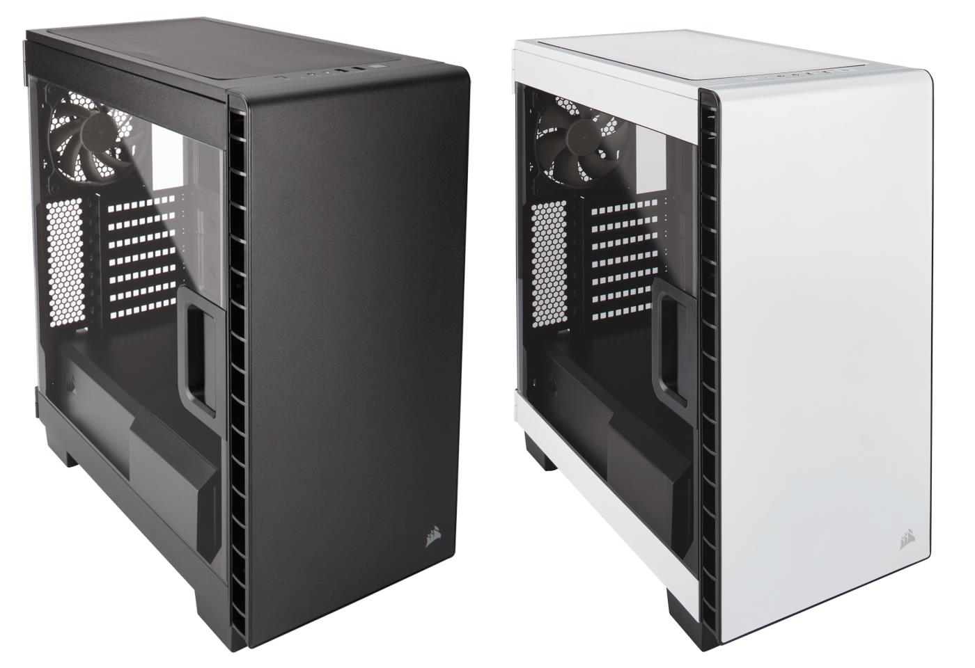 Corsair Carbide Series Clear C Mid Tower Case Black White Lingloong Lingloong