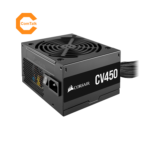 Corsair CV450 450W 80 Plus Bronze Certified Power Supply Unit (PSU)