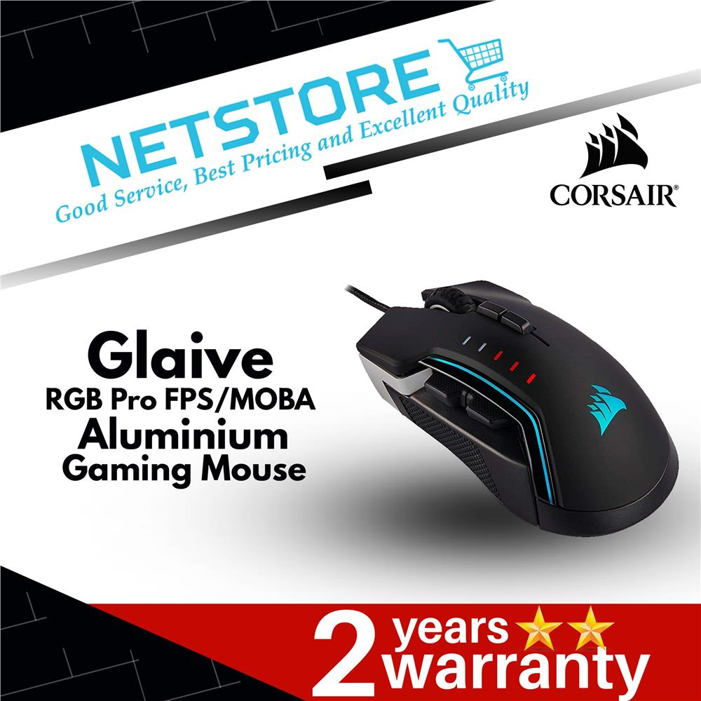 Best Fps Mouse 2020.Corsair Glaive Rgb Pro Fps Moba Aluminium Gaming Mouse 18 000 Dpi