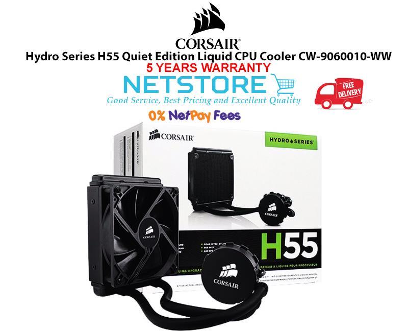 Best Quiet Cpu Cooler 2020 Corsair Hydro Series H55 Quiet Edit (end 4/29/2020 11:15 PM)