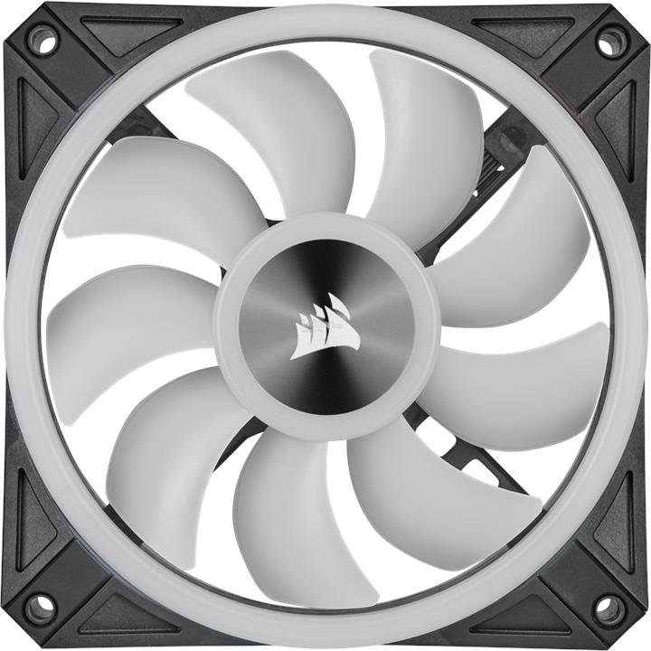 CORSAIR ICUE QL120 RGB 120MM PWM FAN - 3 FAN PACK (CO-9050098-WW)