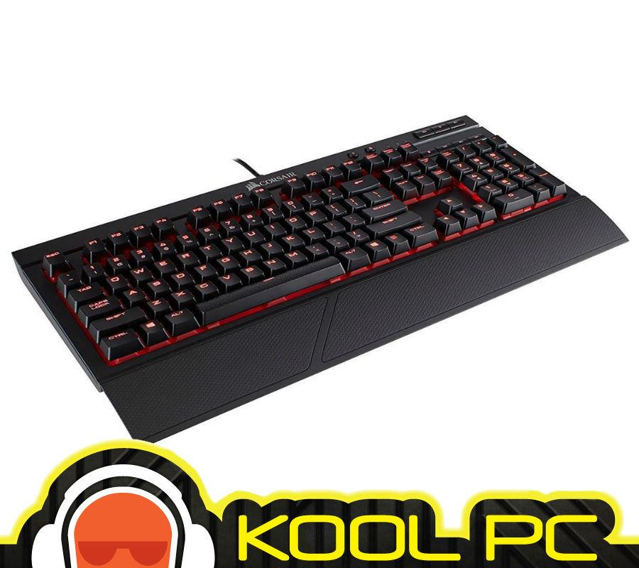 * CORSAIR K68 Mechanical Gaming Keyboard ? Red LED ? Cherry MX Red