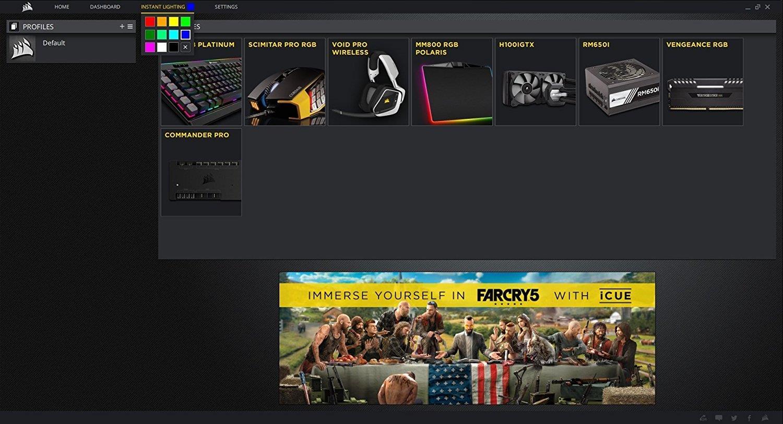 CORSAIR K95 RGB PLATINUM Mechanical Gaming Keyboard - CHERRY MX SPEED
