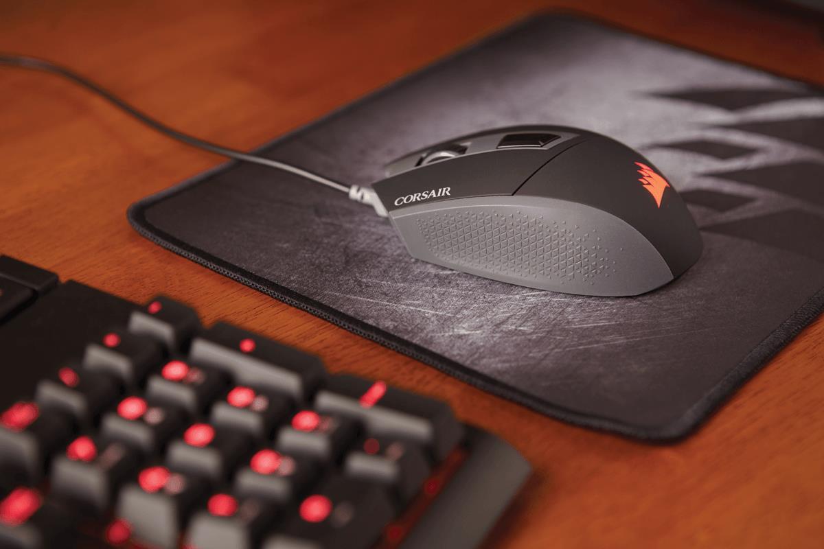 Corsair KATAR Gaming Mouse 8000 DPI Backlit Red Free Shipping