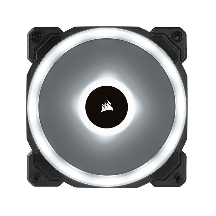 Corsair LL120 RGB 120mm Dual Light Loop RGB LED PWM Fan - 3 Fan Pack